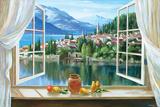 Lago Di Fiori Prints by Dante Lorenzo