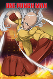 One Punch Man- Saitarna Poster
