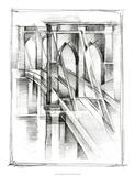 Art Deco Bridge Study II Premium Giclee Print by Ethan Harper