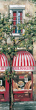 Red Striped Awning Posters by Mark St. John