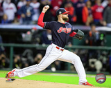 Corey Kluber Game 1 of the 2016 World Series Photo