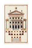 Palladio Façade II Poster by Andrea Palladio