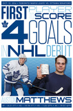 NHL: Toronto Maple Leafs- Auston Matthews History Maker Photo
