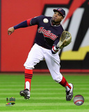 Rajai Davis Game 1 of the 2016 World Series Photo