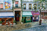 Rue Des Maisons Poster by Mark St. John