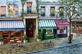 Rue Des Maisons Poster by Mark St. John