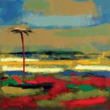 Gold Coast I Prints by Elya DeChino