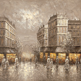 City of Light Prints by Gerard Letellier