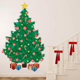 Christmas Tree - Duvar Çıkartması