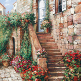 Stone Stairway Petites B Prints by Roger Duvall