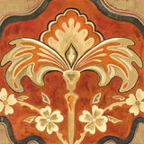 Kashmir Motif A Prints by Judy Shelby