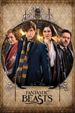 Fantastic Beasts- Group Frame Posters