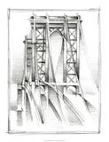Art Deco Bridge Study I Premium Giclee Print by Ethan Harper