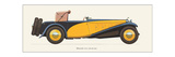 Delage, 1933 Prints by Antonio Fantini