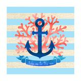 Take Me to the Sea Prints by Bella Dos Santos