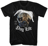 Doug the Pug- Pug Life Bandana T-Shirt
