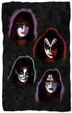 KISS - Solo Heads Fleece Blanket Fleece Blanket