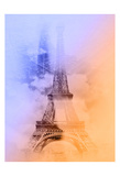 Eiffel 3 Posters by Sandro De Carvalho