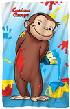 Curious George - Paint Fleece Blanket Fleece Blanket