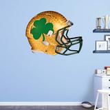 NCAA Notre Dame Fighting Irish 2015 Shamrock RealBig Helmet Wallstickers