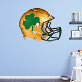 NCAA Notre Dame Fighting Irish 2015 Shamrock RealBig Helmet Wall Decal