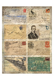 Vintage Envelopes Prints by Kimberly Allen
