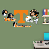 NCAA Tennessee Volunteers 2015 Logo Assortment Fathead Jr. Wall Decal