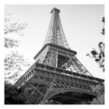Eiflel Tower Square Prints by Michael Joseph