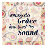 Amazing Grace Paisley Posters by Kimberly Allen