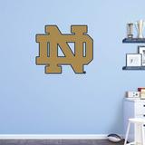 NCAA Notre Dame Fighting Irish 2015 ND RealBig Logo Wallstickers