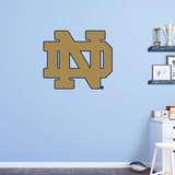 NCAA Notre Dame Fighting Irish 2015 ND RealBig Logo Wall Decal