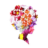 Floral Fashion Prints by Sheldon Lewis