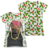 Juniors: Pets Rock- Rapping Paper (Front/Back) T-shirts