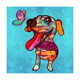 Barks and Butterfly Print by Evangeline Taylor