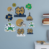 NCAA Notre Dame Fighting Irish 2015 Logo Assortment Fathead Jr. Wall Decal