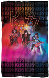 KISS - Stage Lights Fleece Blanket Fleece Blanket
