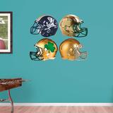 NCAA Notre Dame Fighting Irish 2015 RealBig Helmet Collection Wallstickers