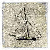 Sailing On Print 2 Art by Kimberly Allen