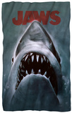 Jaws - Shark Fleece Blanket Fleece Blanket