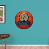 NCAA Notre Dame Fighting Irish 2015 RealBig Basketball Logo Wallstickers