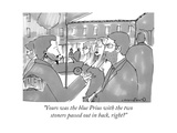 """""""Yours was the blue Prius with the two stoners passed out in back, right"""" - New Yorker Cartoon Giclee Print by Michael Crawford"""