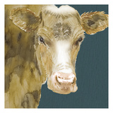 Hogans Brown Cow Posters par Beverly Dyer