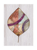 Wood Inlay Leaf 2 Prints by Filippo Ioco
