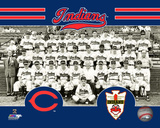 Cleveland Indians 1948 World Series Champions Team Sit Down Photo Photo