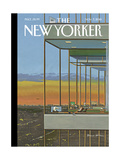 The New Yorker Cover - November 7, 2016 Regular Giclee Print by Bruce McCall