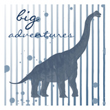 Big Adventures Poster by Sheldon Lewis