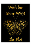 Brave Wings Art by Sheldon Lewis