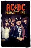 AC/DC - Highway to Hell Fleece Blanket Fleece Blanket