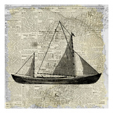 Sailing On Print 1 Posters by Kimberly Allen