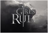 Girls Rule- Epic Horizontal Sword Plakater